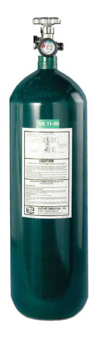 50 Fifty Cubic Foot Oxygen Cylinder